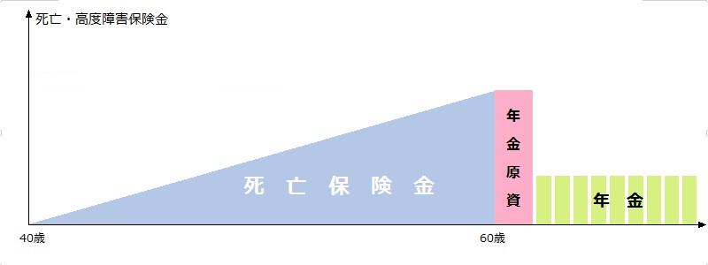 個人年金保険の例